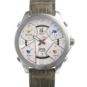 ジェイコブ時計スーパーコピー クォーツステンレス シルバー デイト タイプ 新品メンズ