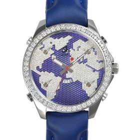 ジェイコブ腕時計スーパーコピー クォーツステンレス ダイヤモンド パープル