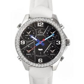 ジェイコブ時計スーパーコピー タイムゾーン ステンレス ブラック ダイヤモンド