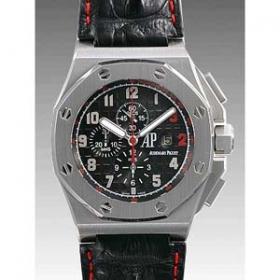 オーデマピゲ 時計 偽物 ロイヤルオーク オフショアクロノ シャキール・オニール限定 26133ST.OO. A101CR.01