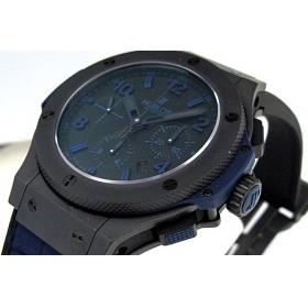 ウブロ時計スーパーコピー ビッグバン オールブラックブルー301.CI.1190.GR.ABB09