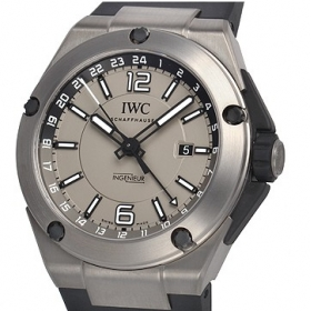 IWC時計スーパーコピー インヂュニア デュアルタイムチタニウムIW326403