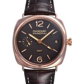 パネライ時計スーパーコピーラジオミール 3デイズGMT オロロッソ PAM00421カテゴリー