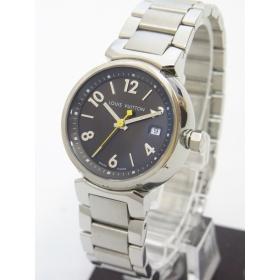 ルイ・ヴィトン時計 タンブールPM レディース 茶文字盤 Q1211