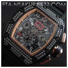 リシャール・ミル時計スーパーコピーフェリペ・マッサ, Asian 7750搭載 28800振動超安