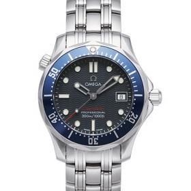 オメガ時計スーパーコピー シーマスター コピープロフェッショナル ボーイズ デイト クォーツ ブルー 2223.80