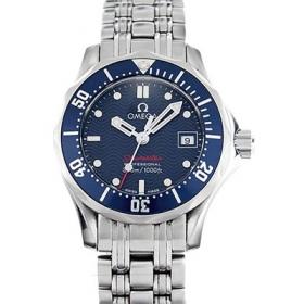 オメガ時計スーパーコピー シーマスター N級品300mプロダイバーズ 2224.80 ブルー レディース