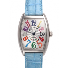 フランクミュラー ト腕時計スーパーコピー ノーカーベックス 新作カラードリームス 7502QZ COL DRM