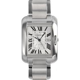 カルティエ時計スーパーコピー タンクアングレーズ 新作MM W5310009