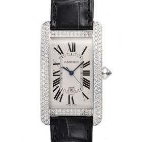 カルティエ 腕時計スーパーコピー タンクアメリカン 新作 LM WB710004