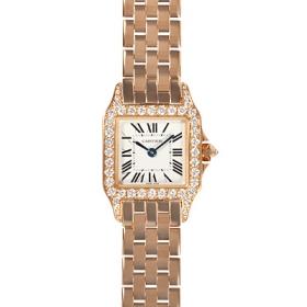 カルティエ時計スーパーコピー サントスドゥモワゼル 新作 SM WF9008Z8