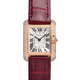 カルティエ腕時計スーパーコピー タンクアングレーズ価格SM WT100013