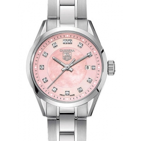 タグホイヤー時計スーパーコピー カレラ 新品レディ クォーツ ダイヤモンド WV1417.BA0793