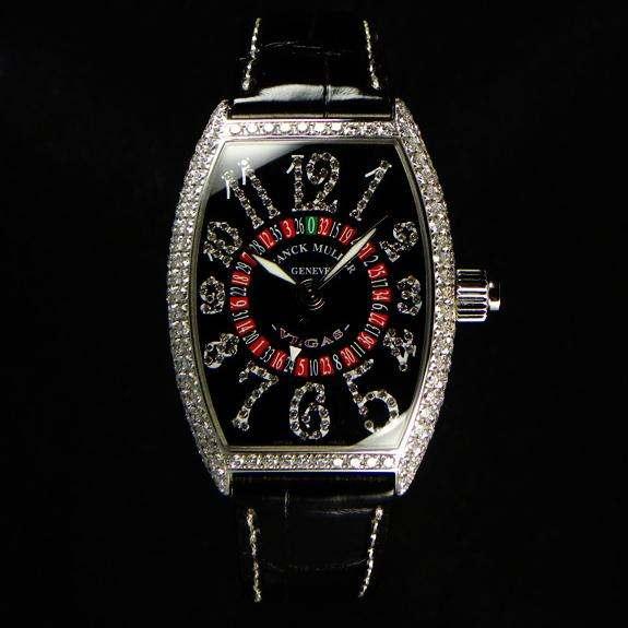FRANCK MULLER フランクミュラー スーパーコピー時計 ヴェガスジョーカー フルダイヤモンド 5850VEGASDCDJ