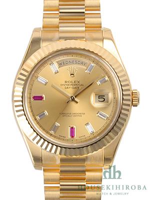 ロレックスコピー 時計 デイデイトII 218238BG