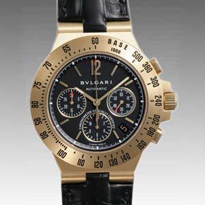 ブルガリ時計偽物 コピー ディアゴノプロフェッショナルタキメトリッククロノ CH40GLDTA