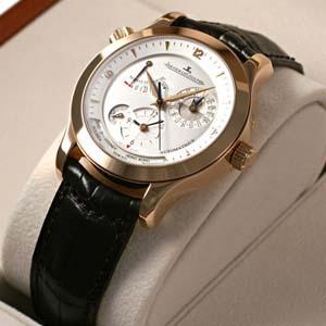 ジャガールクルト時計 マスタージオグラフィーク ピンクゴールド Q1502420コピー時計