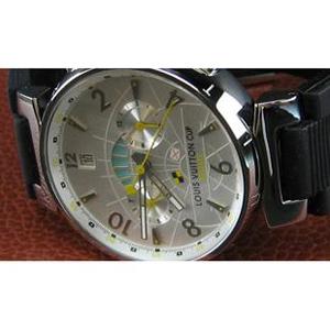 ルイヴィトン時計スーパーコピー louis vuitton腕時計 シルバー文字盤自動巻 LV-010