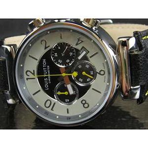 ルイヴィトン時計スーパーコピー louis vuitton腕時計 個性時計 クロノグラフ38mm LV-016