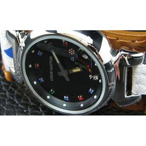 ルイヴィトンスーパーコピー 時計婦人用ブラック文字盤 LV-020