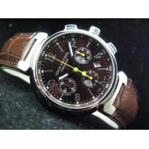 ルイヴィトン 時計スーパーコピー時計 タンブール クロノ レザー 7750搭載 LVTC0102