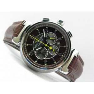 ルイヴィトン 時計スーパーコピー時計 タンブール クロノ クォーツ タイプB A LVTC0201