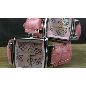 ルイヴィトン 時計スーパーコピー時計 恋人時計ピンク LV-030