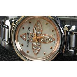 ルイヴィトン 時計スーパーコピー時計 超人気恋人時計本革ベルトLV-026