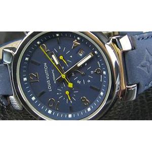 ルイヴィトン 時計スーパーコピー時計 超美品青文字盤41mm LV-023