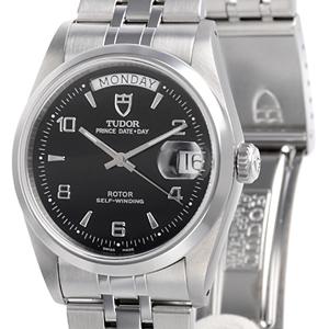チュードル時計スーパーコピー プリンスデイト デイ自動巻き ブラック 76200