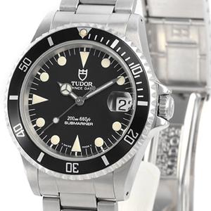 チュードル時計スーパーコピー プリンスデイト サブマリーナ 自動巻き時計 ブラック 75190