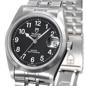 チュードル時計スーパーコピー プリンスオイスター デカバラ自動巻き シルバー 7966
