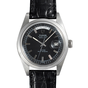 チュードル時計スーパーコピー オイスターパーペチュアル デイトデイ ブラック 9450/0