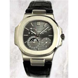 パテックフィリップ 腕時計スーパーコピー Patek Philippeノーチラス パワーリザーブ ムーンフェイズ 5712G