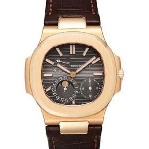パテックフィリップ 腕時計スーパーコピー Patek Philippeノーチラス パワーリザーブ ムーンフェイズ 5712R